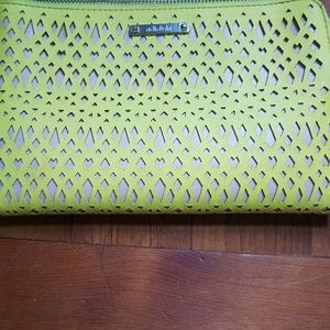 Stella & Dot Citron wallet clutch